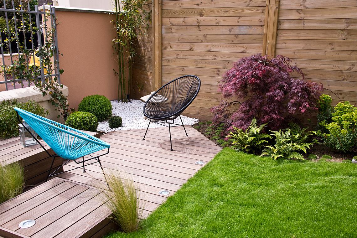 Terrasse En Bois Et Jardin petit espace : astuces pour aménager une terrasse bois | id