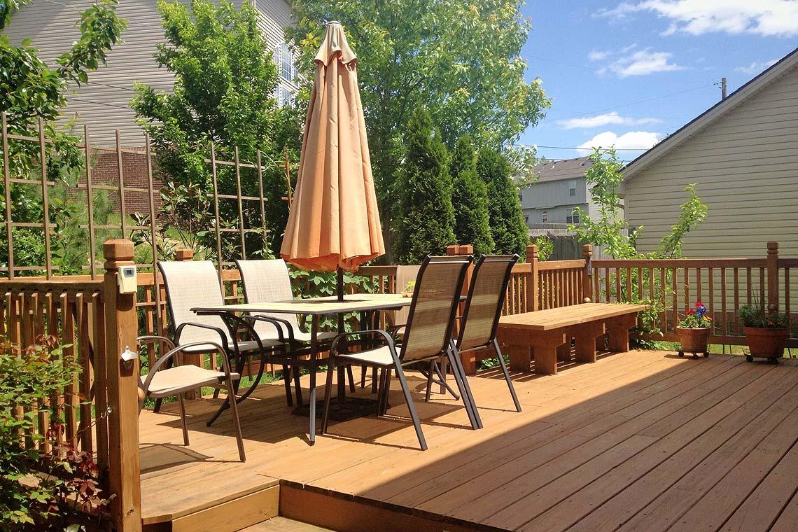 Terrasse En Bois Et Jardin mobilier de jardin : quoi de neuf sous le soleil ? | id